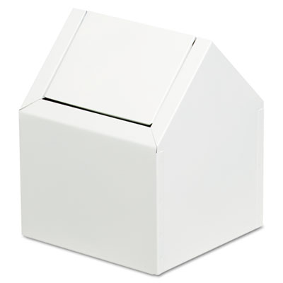 Hospital Specialty Co. Double Entry, Swing Top Floor Receptacle