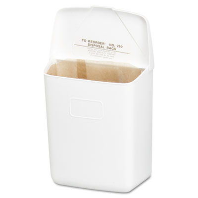 Hospital Specialty Co. Convertible Sanitary Napkin Receptacle