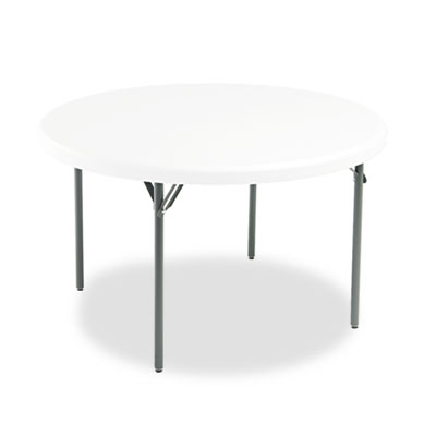 Iceberg IndestrucTables Too 1200 Series Round Folding Table