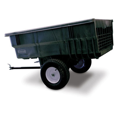 Rubbermaid Commercial Structural Foam Tractor/ATV Trailer