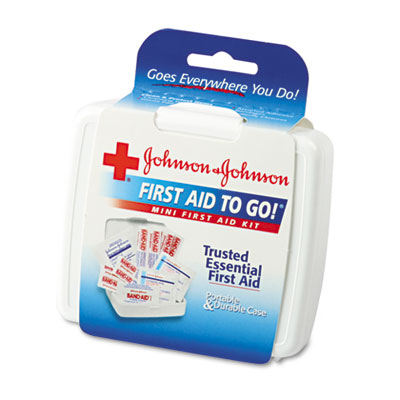 Johnson & Johnson Red Cross Mini First Aid to Go