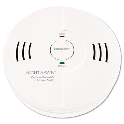 Kidde Night Hawk Combination Smoke/CO Alarm with Voice & Alarm Warning