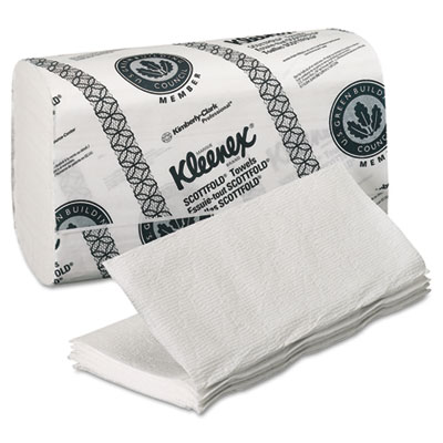 KIMBERLY-CLARK PROFESSIONAL* KLEENEX Folded Paper Towels