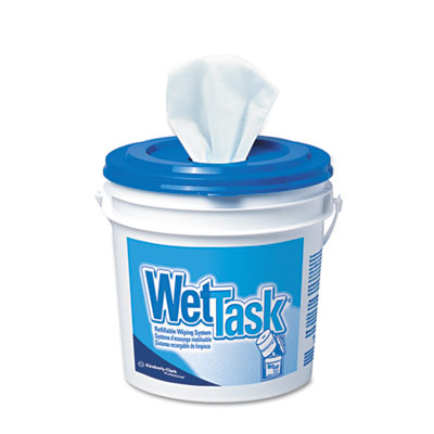 KIMBERLY-CLARK PROFESSIONAL* KIMTECH PREP* Wipers for the WETTASK* Refillable Wet Wiping System