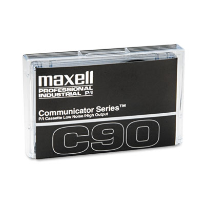 Maxell Dictation and Audio Cassette