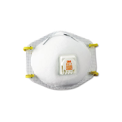 3M Particulate Respirator 8511, N95 with 3M Cool Flow Exhalation Valve
