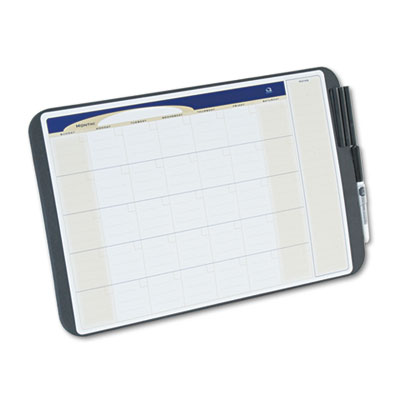 Quartet Tack & Write Monthly Calendar Board