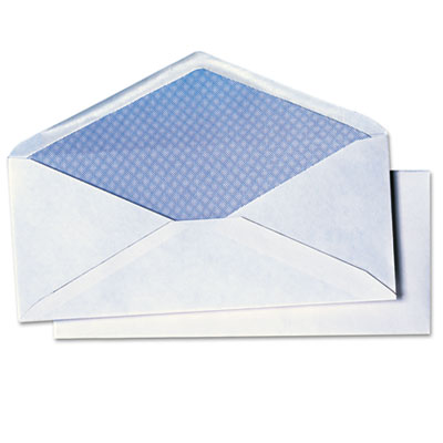 Quality Park White Wove Business Envelope Convenience Packs