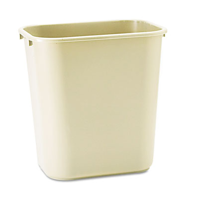 Rubbermaid Commercial Deskside Plastic Wastebasket