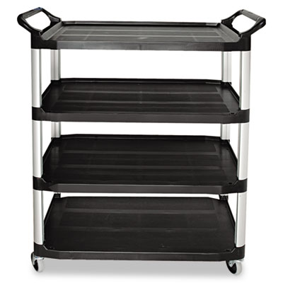 Rubbermaid Commercial Open Sided Utility Cart