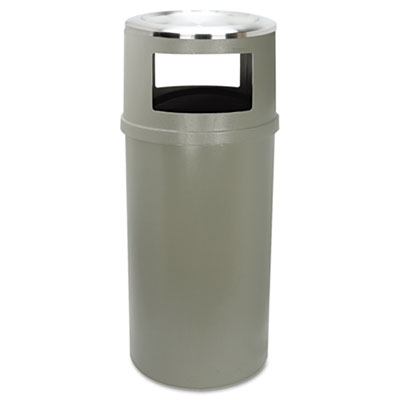 Rubbermaid Commercial Ash/Trash Classic Container without Doors