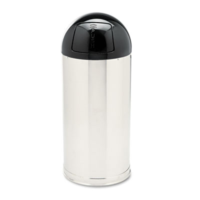 Rubbermaid Commercial European & Metallic Series Dome Top Receptacle