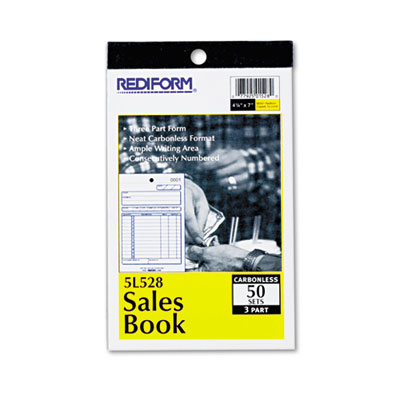 Rediform Sales Book