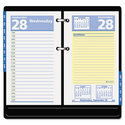 AT-A-GLANCE QuickNotes Desk Calendar Refill