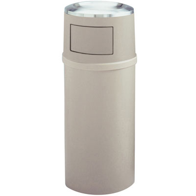 Rubbermaid Commercial Ash/Trash Classic Container with Doors