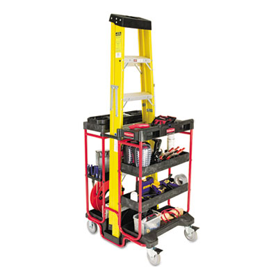 Rubbermaid Commercial Ladder Cart With Open Ends