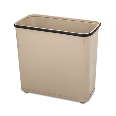 Rubbermaid Commercial Fire-Safe Steel Rectangular Wastebaskets