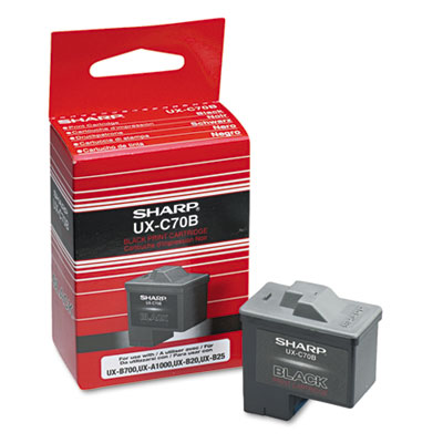 Sharp UXC70B Inkjet Cartridge