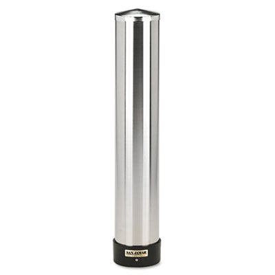 San Jamar Large Water Cup Dispenser with Removable Cap