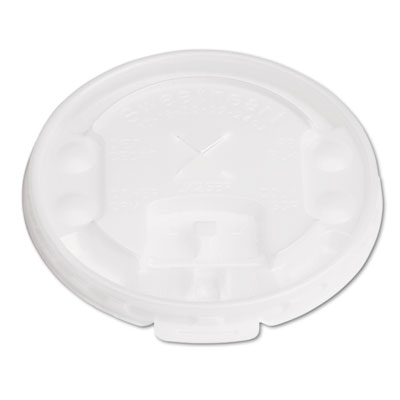 SOLO Cup Company Lift Back & Lock Tab Cup Lids For Trophy Insulated Thin-Wall Foam Hot/Cold Cups