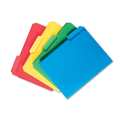 Smead Top Tab Poly Colored File Folders