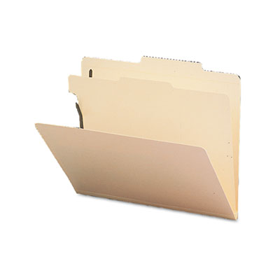 Smead Manila Four- and Six-Section Top Tab Classification Folders