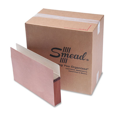 Smead Redrope Drop Front File Pockets
