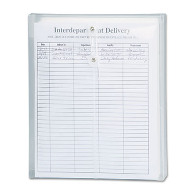 Smead Poly String & Button Interoffice Envelope