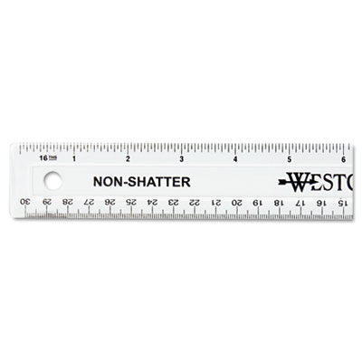 Westcott Non-Shatter Flexible Ruler
