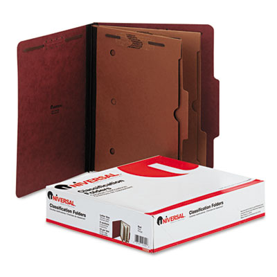 Universal Six-Section Classification Folder with Pockets
