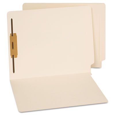 Universal Reinforced End Tab File Folders with Fasteners