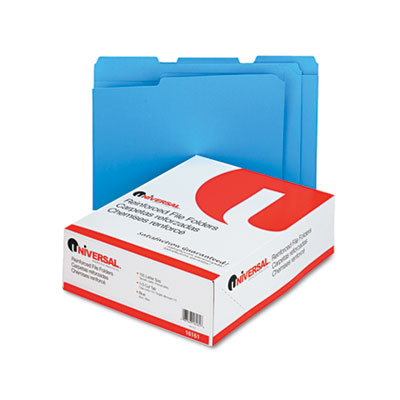 Universal One Reinforced Top Tab File Folders