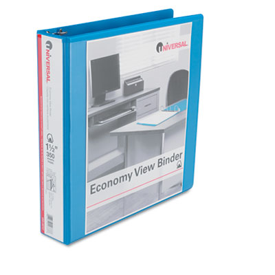 Universal D-Ring Economy View Binder