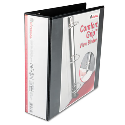 Universal Comfort Grip Deluxe Plus D-Ring View Binder