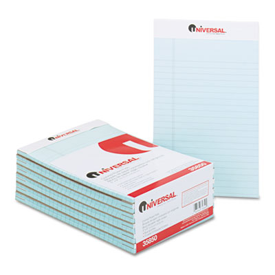 Universal One Fashion Colored Perforated Ruled Writing Pads