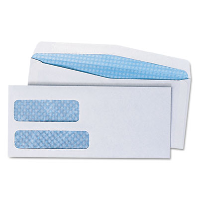 Universal Double Window Business Envelope