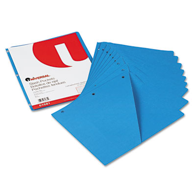 Universal Slash-Cut Pockets for Three-Ring Binders