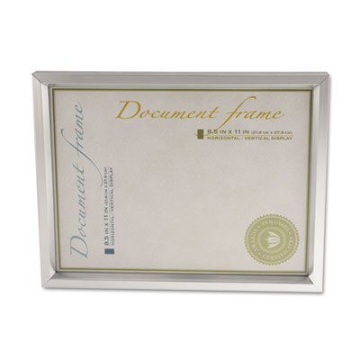 Universal Plastic Document Frame