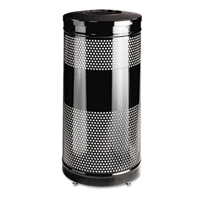 Rubbermaid Commercial Classics Perforated Open Top Receptacle