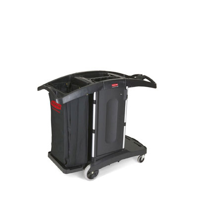 Rubbermaid Commercial Compact Folding Housekeeping Cart