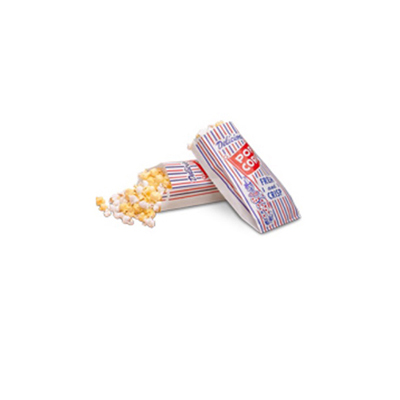 Bagcraft Papercon Pinch-Bottom Paper Popcorn Bag