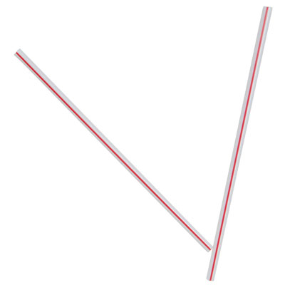 Dixie Unwrapped Hollow Stir-Straws