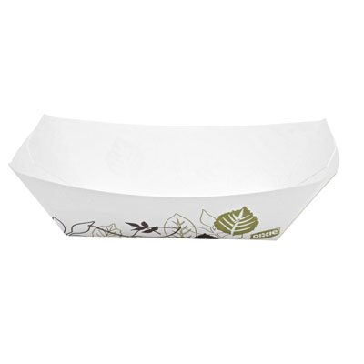 Dixie Kant Leek Polycoated Paper Food Tray