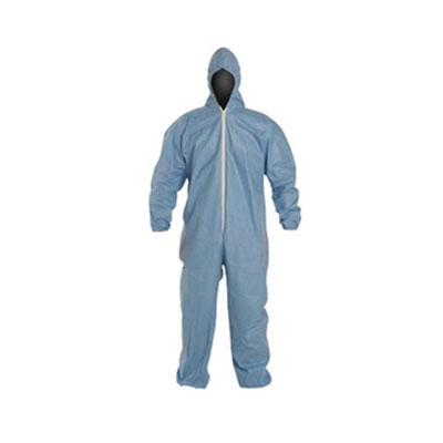 DuPont Tempro Elastic-Cuff Hooded Coveralls