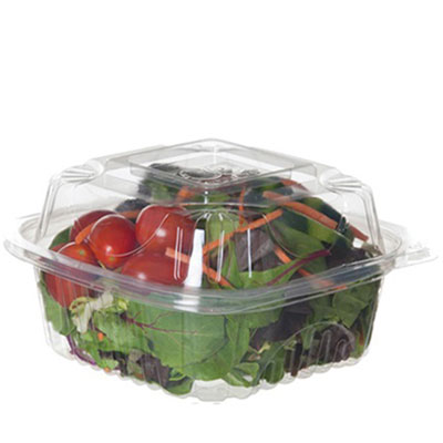 Eco-Products Clear Clamshell Hinged Food Containers