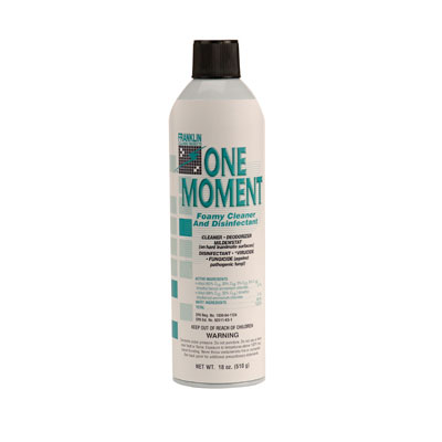 Franklin Cleaning Technology One Moment Foamy Cleaner and Disinfectant
