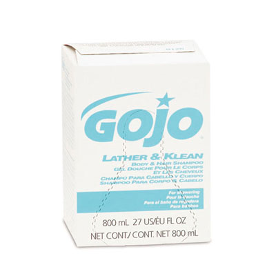 GOJO Lather & Klean Body & Hair Shampoo