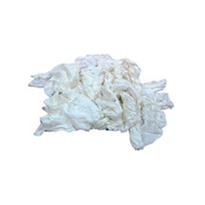 Hospital Specialty Co. Bleached White T-Shirt Rags