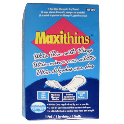 Hospital Specialty Co. Maxithins Ultra-Thin Pads