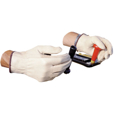 Impact Unlined Grain-Leather Driver's Gloves